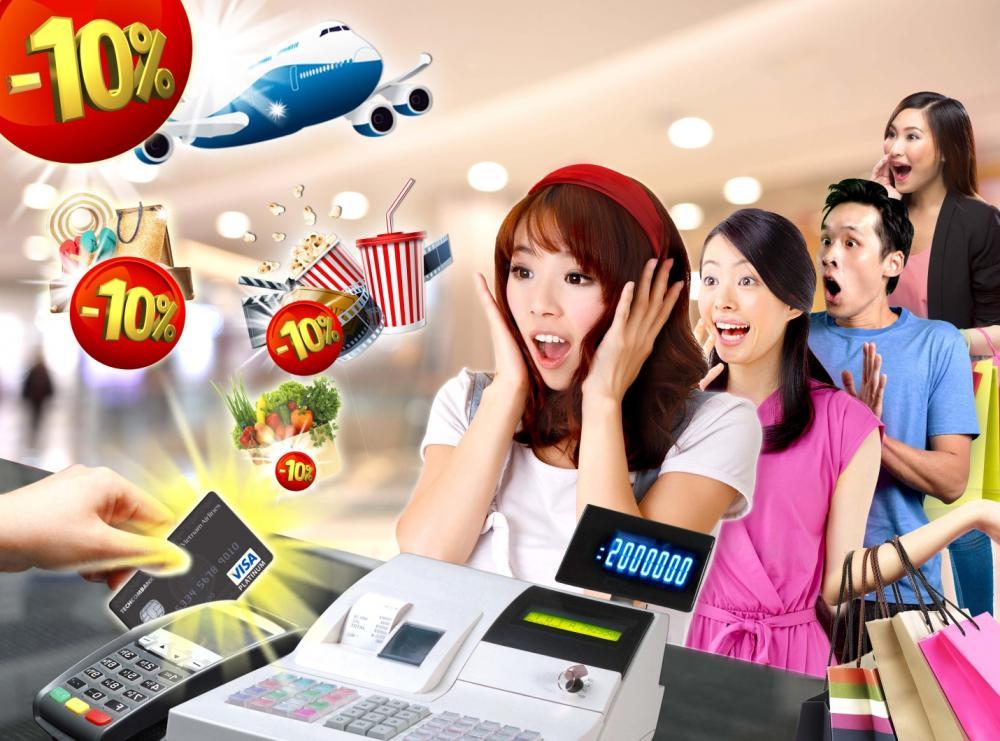 Sở hữu thẻ tín dụng hưởng nhiều ưu đãi