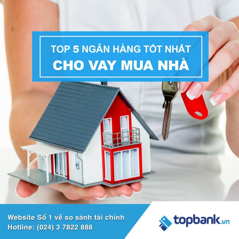 Danh sách ngân hàng có lãi suất vay mua nhà tốt nhất