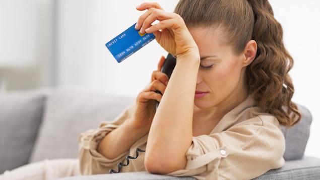 thẻ tín dụng bị từ chối trong quá trình sử dụng