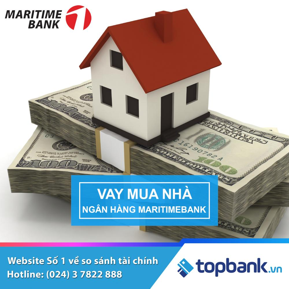 Vay mua nhà với lãi suất ưu đãi Maritime Bank 2019