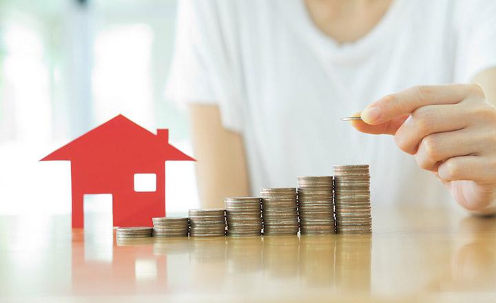 Vay ngân hàng mua nhà cần tích góp được một khoản tiền nhất định