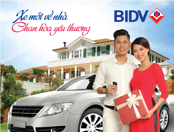Lãi suất cho vay mua xe BIDV 2018 - chương trình khuyến mãi từ BIDV