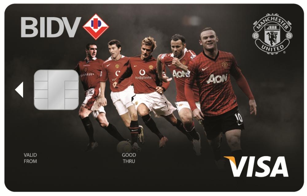 Lãi suất thẻ tín dụng BIDV ManU