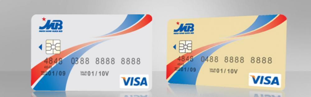 Các loại thẻ tín dụng MB Bank Visa với các tiện ích hấp dẫn
