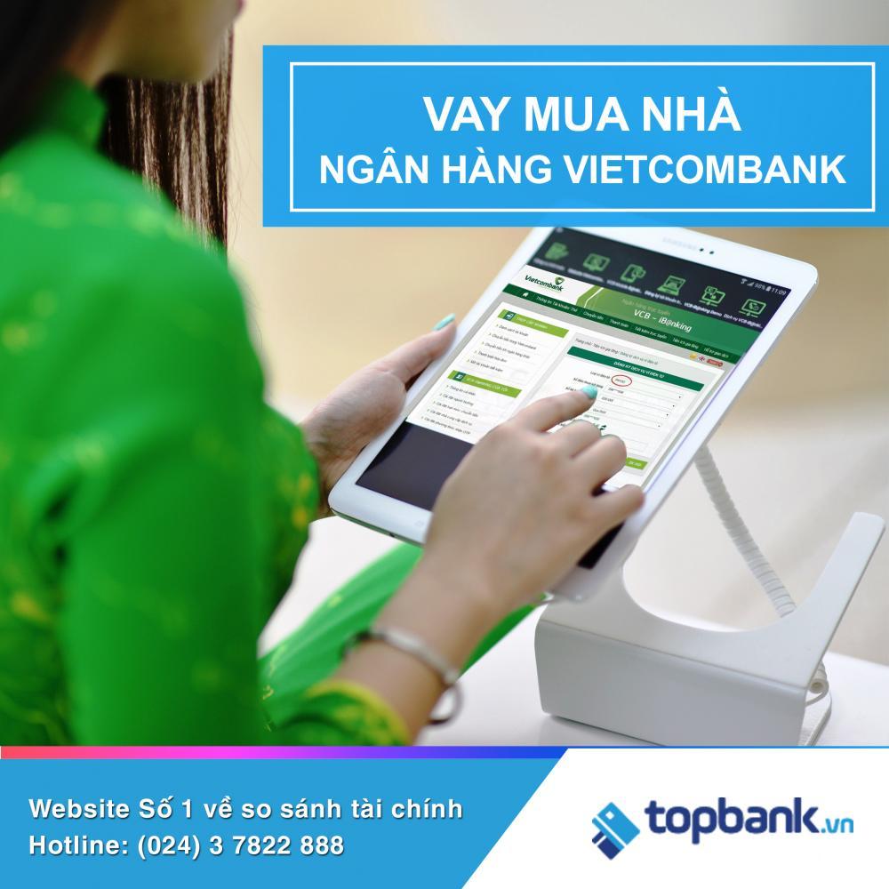 Năm 2018, Vietcombank ưu đãi vay mua nhà trả góp lãi suất hấp dẫn