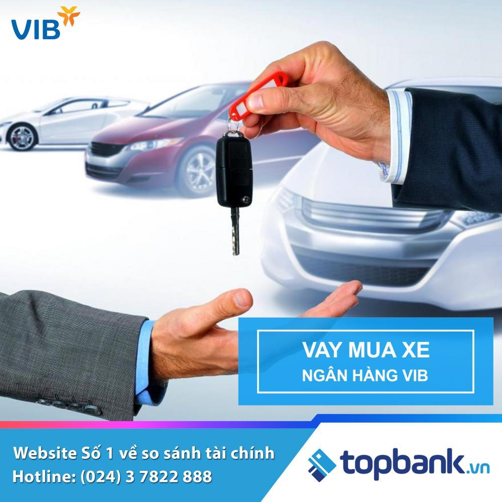 Lãi suất vay mua xe ngân hàng VIB