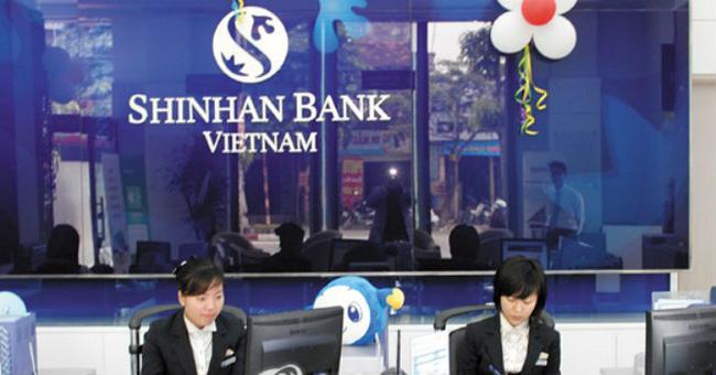 Vay tín chấp tại ngân hàng Shinhan Bank