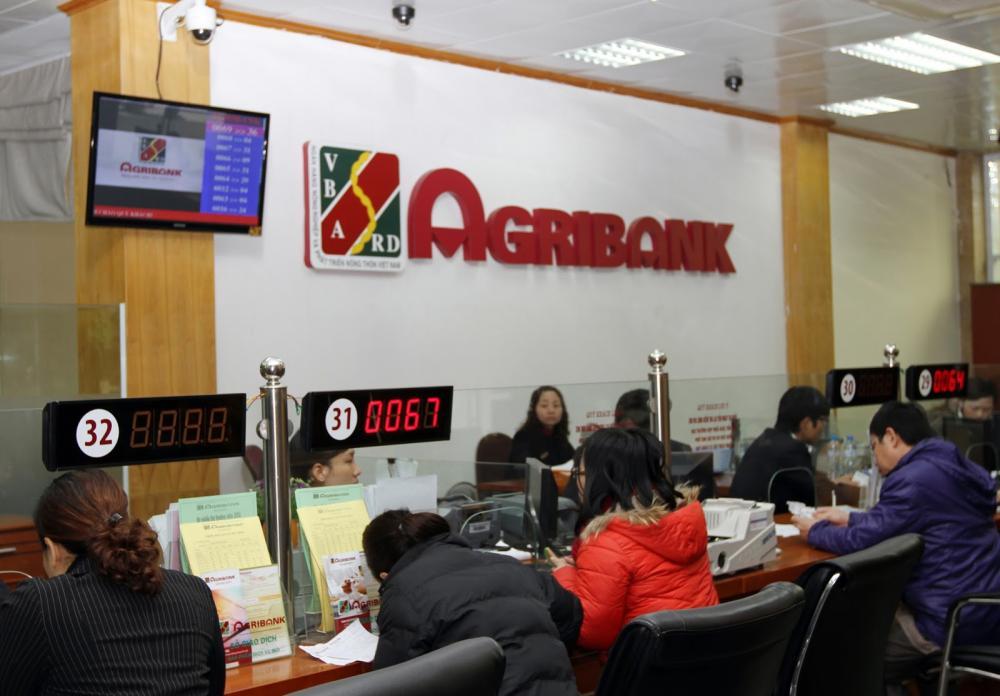 Khách hàng vay tín chấp tại ngân hàng Agribank 2018