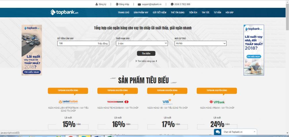 Trang môi giới tài chính Topbank.vn
