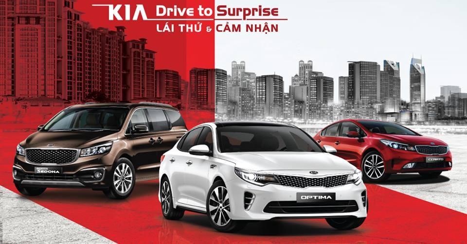 Các phiên bản xe Kia được mua trả góp hiện nay
