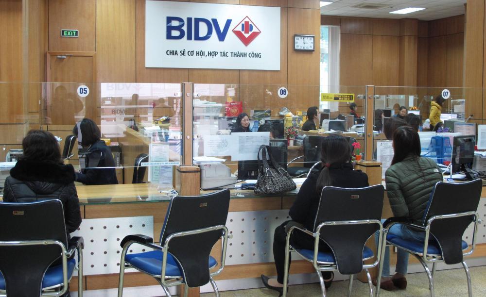 Ảnh minh họa ngân hàng BIDV