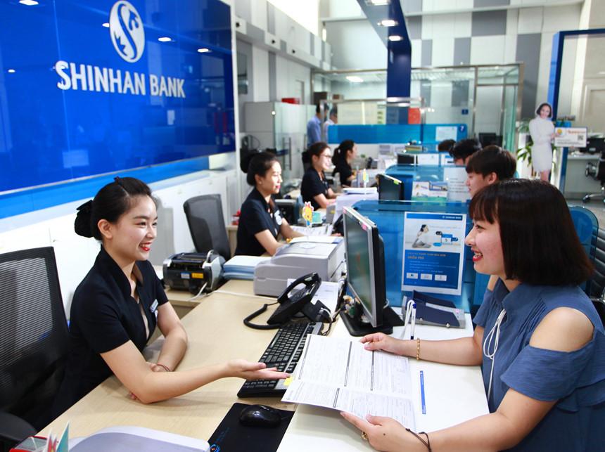 Ảnh minh họa ngân hàng Shinhan Bank