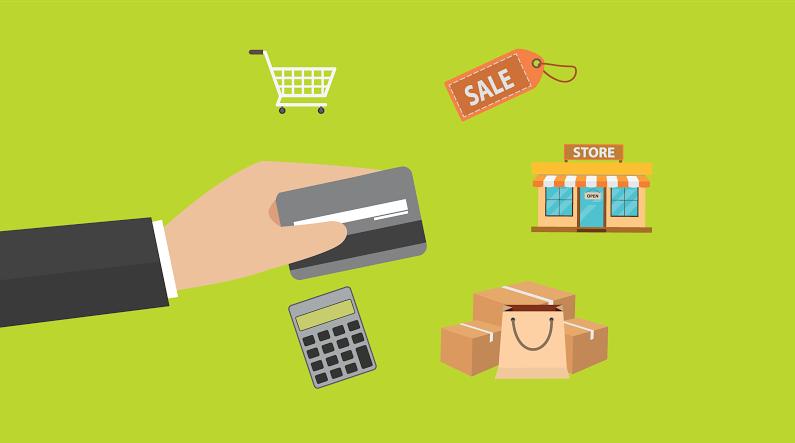 Các khoản chi tiêu qua thẻ tín dụng