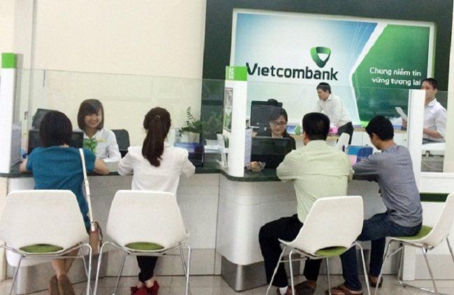 Khách hàng vay ngân hàng mua nhà Vietcombank