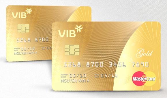 Ưu đãi thẻ tín dụng VIB Gold