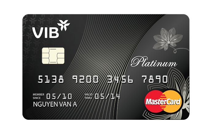 Ưu đãi hấp dẫn thẻ tín dụng VIB Platinum