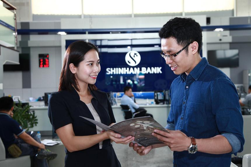 Các thủ tục vay tín chấp ngân hàng Shinhan 2018