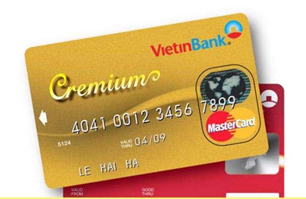 Điều kiện làm thẻ Visa Vietinbank 2018