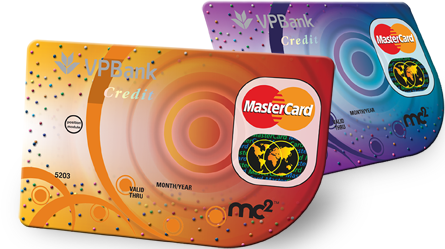 Thẻ tín dụng VPBank Master Card MC2