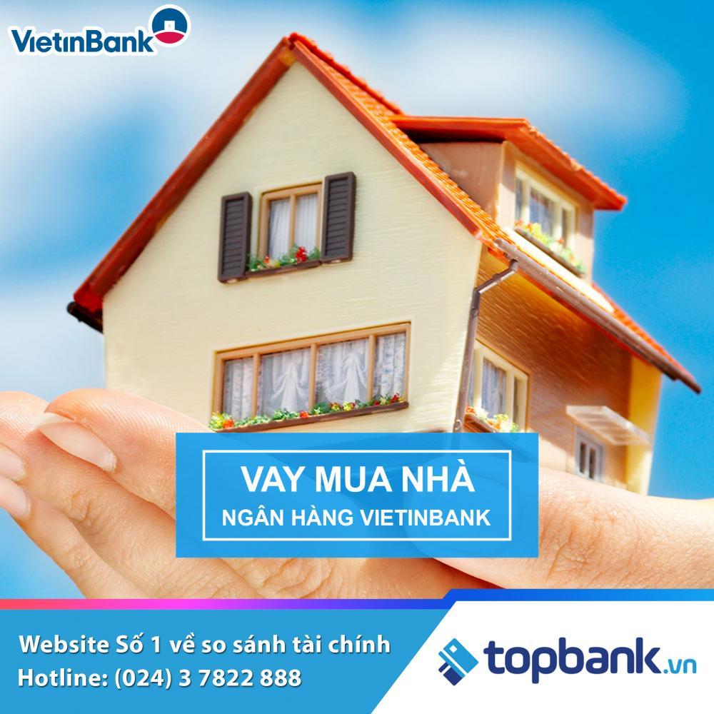 Vay mua nhà tháng cô hồn ngân hàng Vietinbank - ảnh minh họa