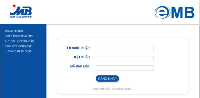 Đăng ký tài khoản Internet banking MB - ảnh minh họa