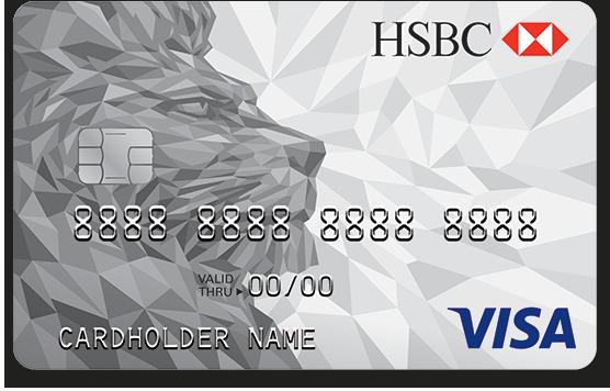 Thẻ tín dụng HSBC Visa hạng chuẩn