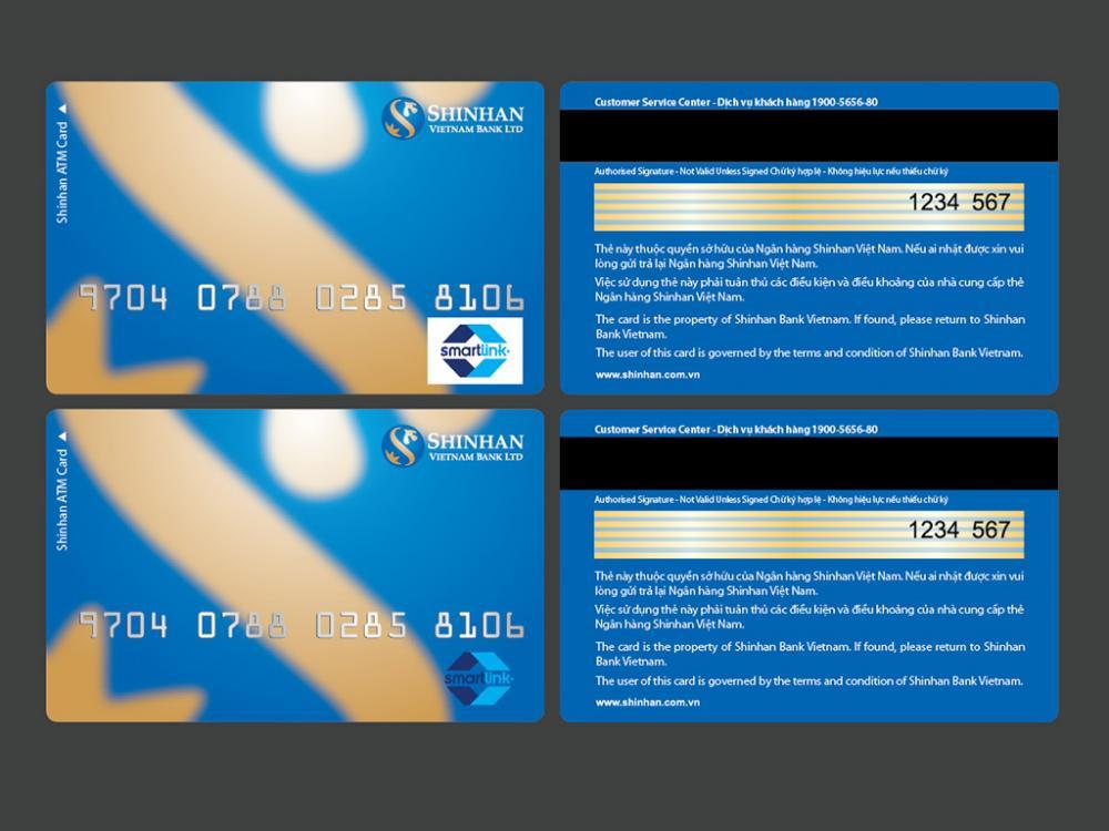 Mở thẻ tín dụng lương 20 triệu ngân hàng Shinhanbank