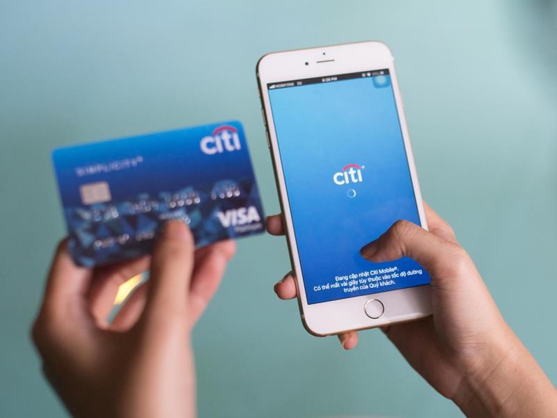 Thẻ tín dụng mua sắm trả góp ngân hàng Citibank