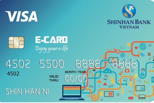 Thẻ tín dụng mua sắm trả góp ngân hàng Shinhanbank