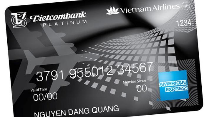 Thẻ tín dụng ích lũy dặm bay ngân hàng Vietcombank
