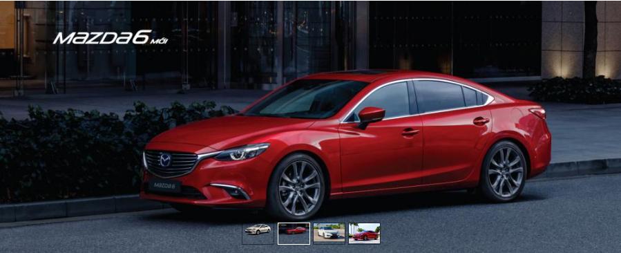 Mazda 6 bán ra 179 xe trong tháng 9/2018 - ảnh minh họa