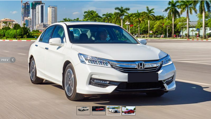 Honda Accord bán được 56 xe