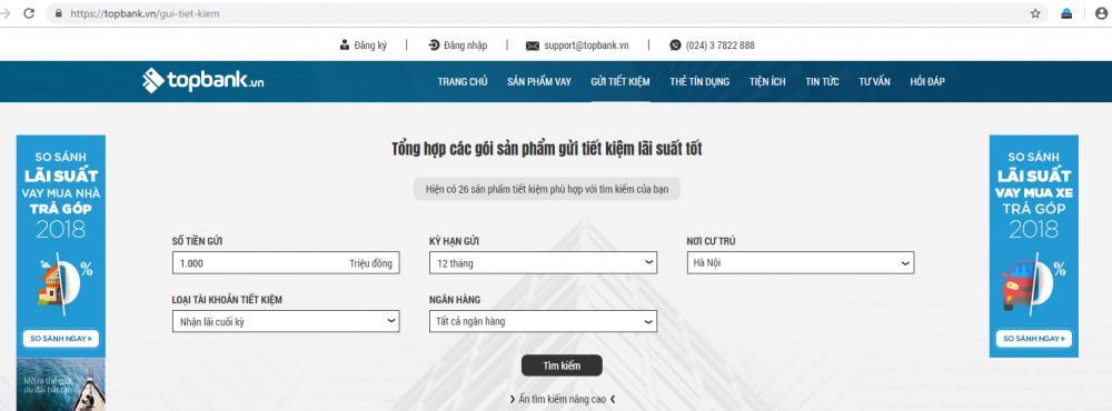 Lựa chọn ngân hàng cho gửi tiết kiệm tại Hà Nội tốt nhất