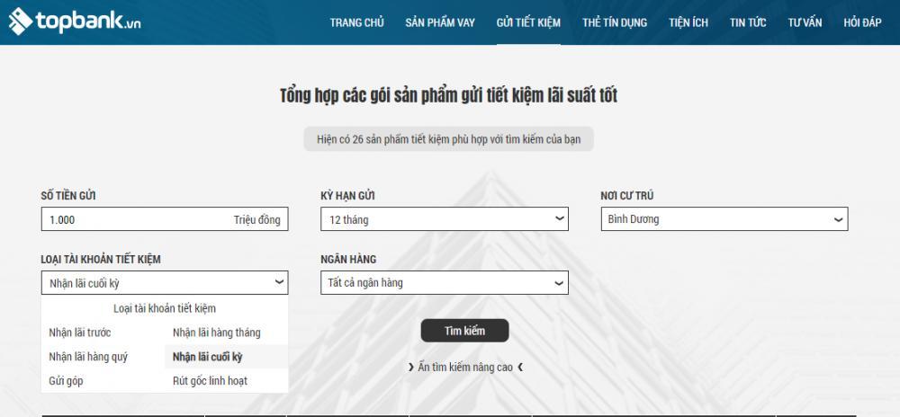 tìm hiểu thông tin gửi tiết kiệm với topbank.vn - ảnh minh họa