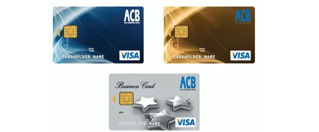 Thẻ tín dụng ACB Visa - ảnh minh họa