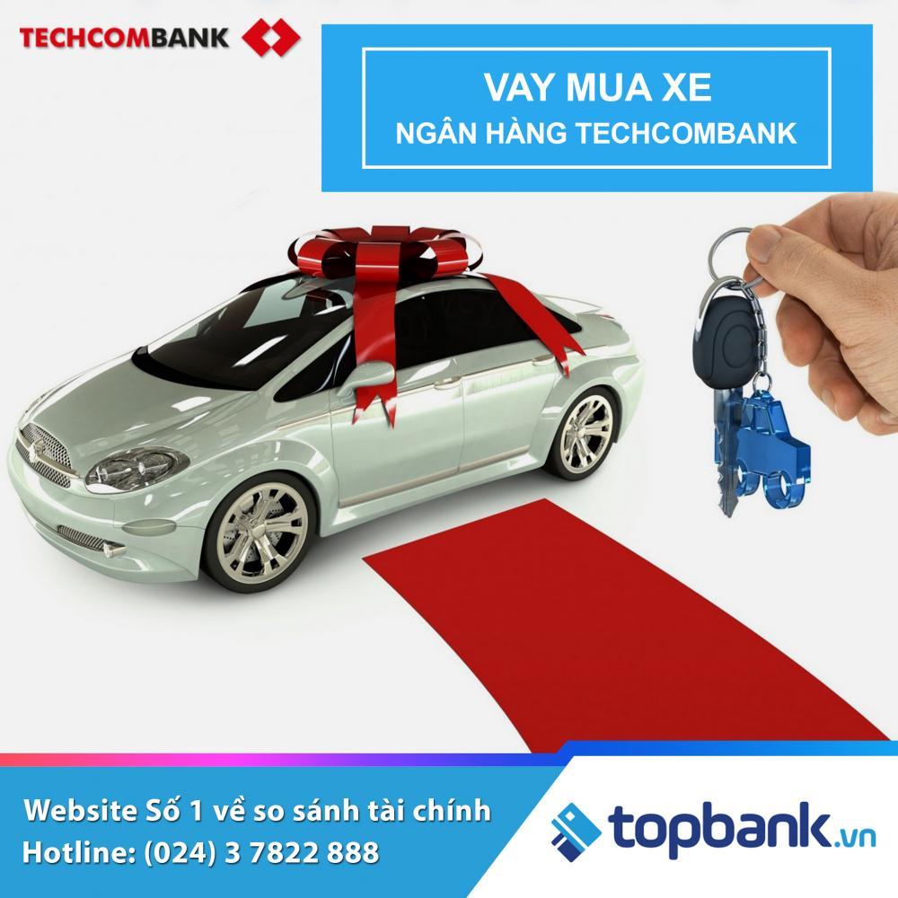 Lãi suất vay mua xe tháng 11/2018 ngân hàng Techcombank