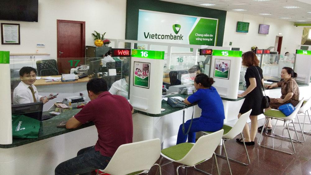 Khách hàng đăng ký vào tài khoản ngân hàng Vietcombank