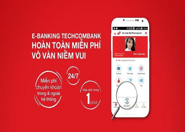 tra cứu số tài khoản Techcombank với internetbanking - ảnh minh họa