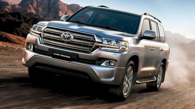 Bảng giá xe Toyota Land Cruiser mới nhất
