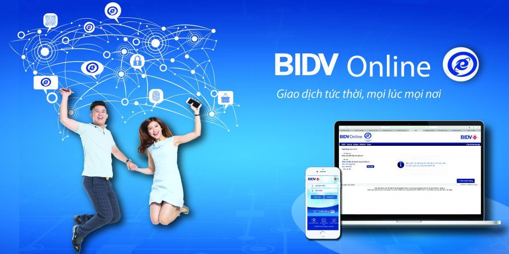 Đăng ký thông báo số dư tài khoản BIDV qua dịch vụ Internet Banking