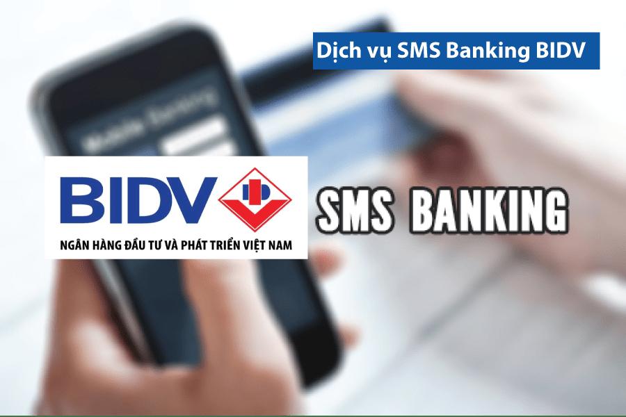 Đăng ký thông báo số dư tài khoản BIDV qua SMS