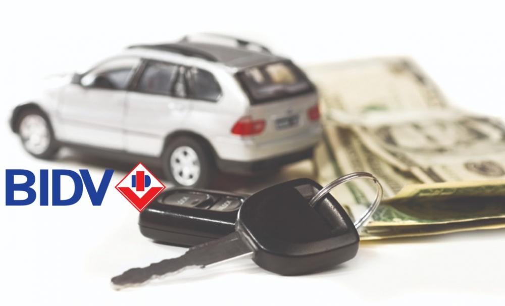 Lãi suất vay mua xe tháng 12/2018 tại BIDV