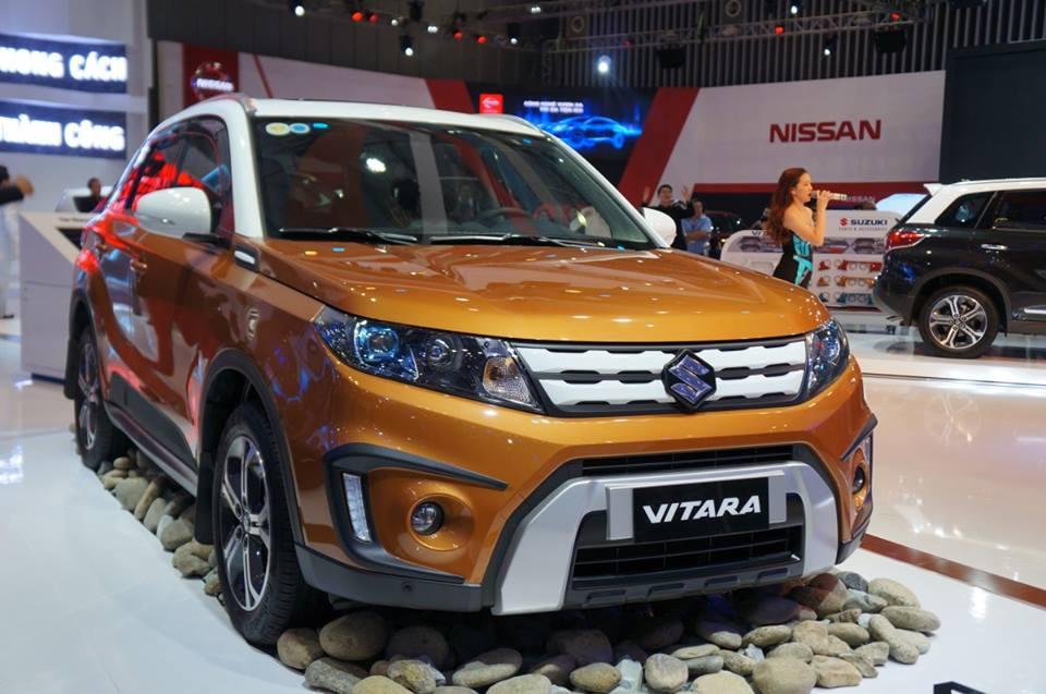 Mẫu xe Suzuki Vitara màu cam