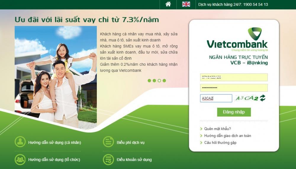 Thủ tục rút tiền tiết kiệm Vietcombank Online - ảnh minh họa