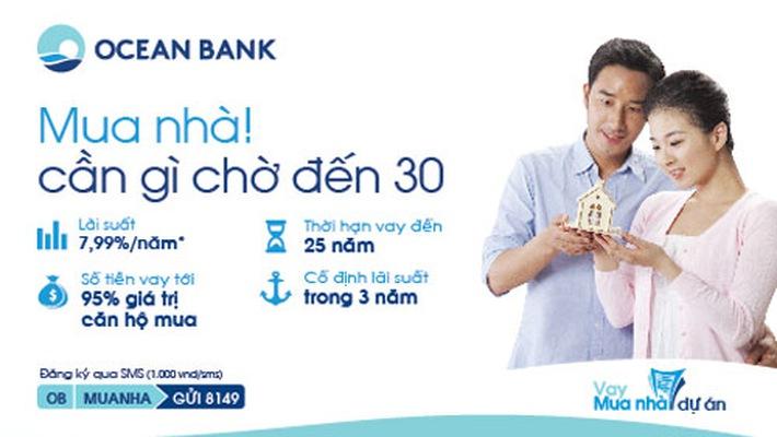 Lãi suất vay mua nhà Oceanbank cập nhật mới nhất