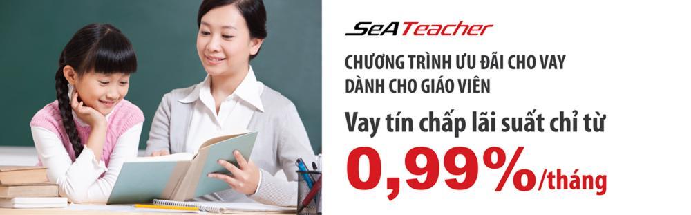 Vay tín chấp giáo viên SeA Bank - ảnh minh họa