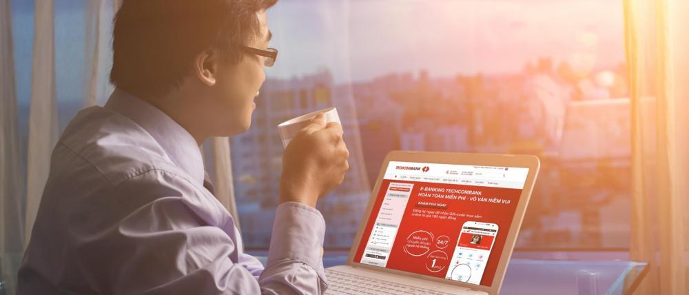 Hướng dẫn gửi tiền qua chứng minh thư Techcombank online