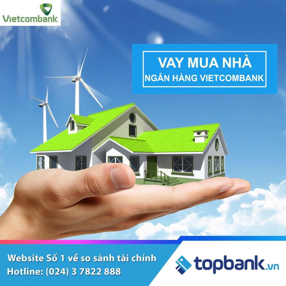 Vay mua nhà Vietcombank - ảnh minh họa