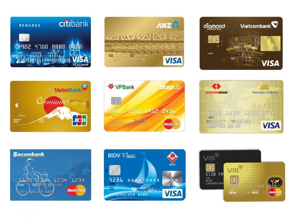 Thẻ tín dụng các ngân hàng - ảnh minh họa