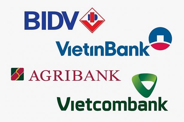 So sánh lãi suất ngân hàng BIDV, Vietinbank, Agribank, Vietcombank - ảnh minh họa